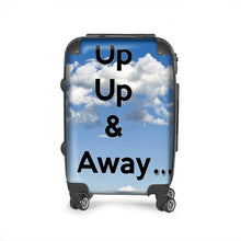 "Load image into Gallery viewer, ""Up Up & Away"" Durable suitcase"