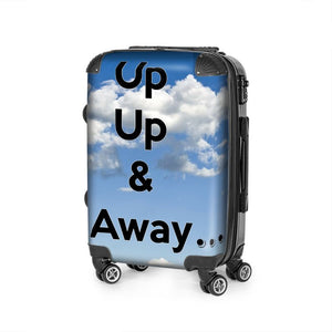 """Up Up & Away"" Durable suitcase"