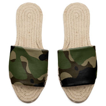 Load image into Gallery viewer, Camouflage Flat Espadrille