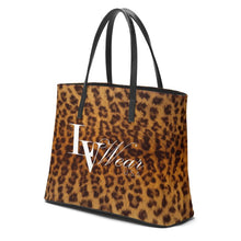 Load image into Gallery viewer, LV Wear (leopard) Leather Kika Tote
