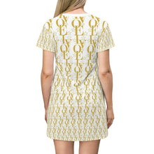 Load image into Gallery viewer, 📮📦  LV WEAR (LOVE/gold) T-shirt Dress