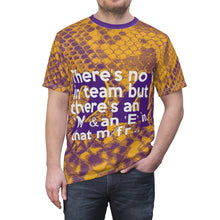 Load image into Gallery viewer, Shaq-Kobe Quote Mamba-Inspired Lakers Colors Unisex Tee