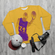 Load image into Gallery viewer, Kobe Bryant Lakers Colors (yellow) Unisex Sweatshirt