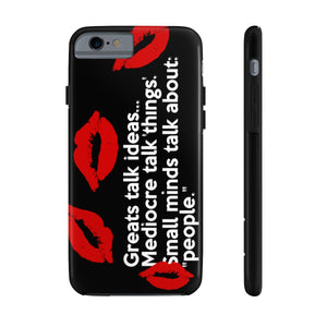 """Talk"" Case Mate Tough Phone Case (see description for phone compatibility)"