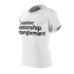 Red Table Talk / Jada Pinkett Smith inspired Entanglement (black stitch) Tshirt