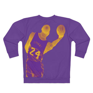 Shaq inspired Kobe Bryant Quote - Lakers Colors (purple) Unisex Sweatshirt