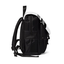 "Load image into Gallery viewer, "" Shopaholic "" (full frontal) UNISEX Casual Shoulder Backpack"