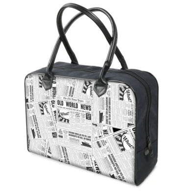 News & Media Canvas Bag