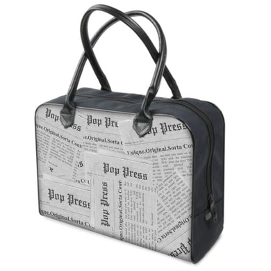 Unique, Original Sorta Couture Pop Culture Press News & Media Canvas Bag