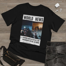 Load image into Gallery viewer, World News DaBABY Unisex Deluxe T-shirt (double)