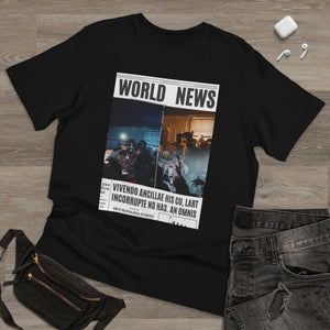 World News DaBABY Unisex Deluxe T-shirt (double)