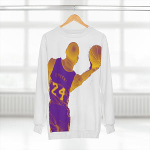 Kobe Bryant Lakers Colors (white) Unisex Sweatshirt