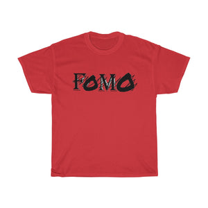 FOMO (scratch through) UNISEX Heavy Cotton Tee