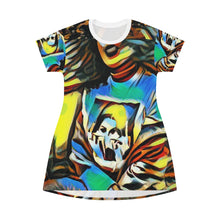 Load image into Gallery viewer, Bad Girl, Mean Grills Oversized T-Shirt/T- Dress