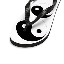 "Load image into Gallery viewer, "" Yin and Yang "" UNISEX Flip-Flops"