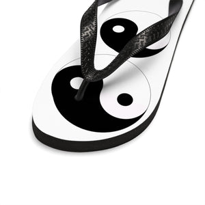 """ Yin and Yang "" UNISEX Flip-Flops"