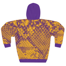 Load image into Gallery viewer, Kobe Mamba-Inspired Lakers Colors Unisex Pullover Hoodie