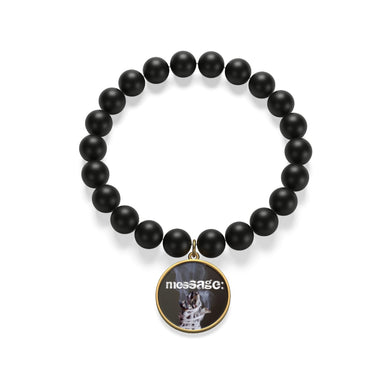 mesSAGE black Onyx mate bracelet