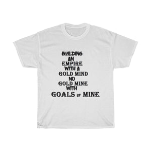 """ Building an Empire "" UNISEX Heavy Cotton Tee"