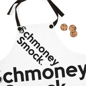 $chmoney Smock (Cooks / Stylists / Barbers) Black strap / embroidered smock