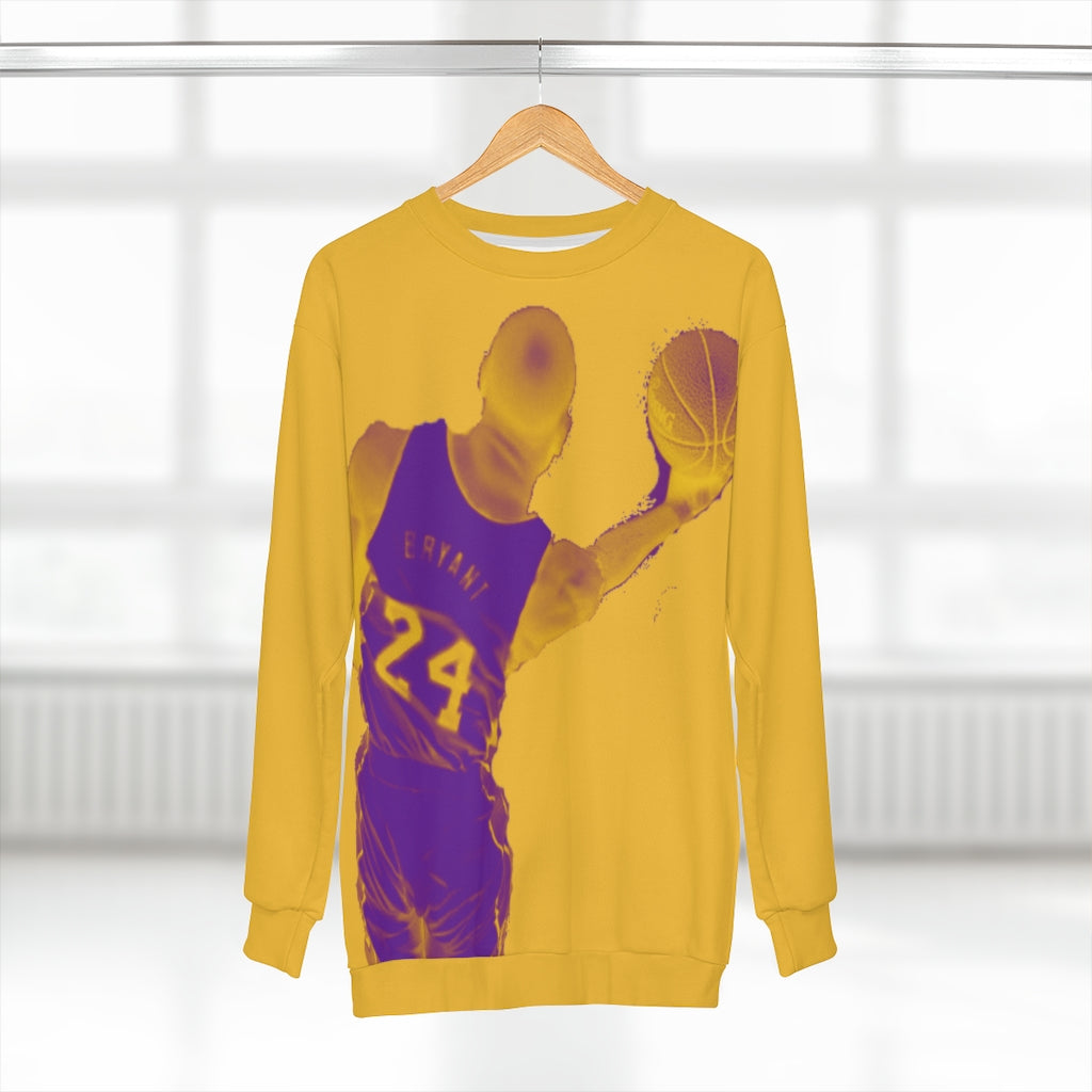 Kobe Bryant Lakers Colors (yellow) Unisex Sweatshirt