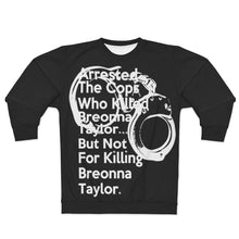 Load image into Gallery viewer, Post Breonna Taylor Grand Jury Decision Sweatshirt (jumbo cuffs)