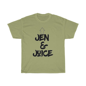 """ Jen & Juice "" (black letter) Unisex Heavy Cotton Tee"