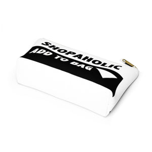 """ Shopaholic "" Accessory Pouch w T-bottom"