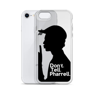 """ Don't Tell Pharrell. "" iPhone Cases (all models)"