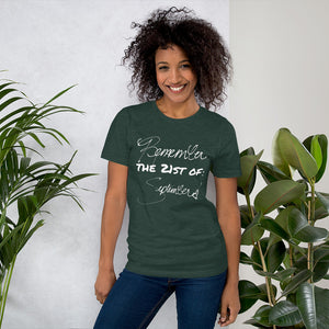 Remember the 21st of September |  Earth Wind and Fire inspired 18)  🌠Short-Sleeve Unisex T-Shirt
