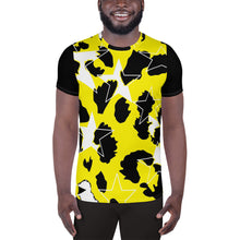 Load image into Gallery viewer, Ani-Star Print Men's Athletic shirt