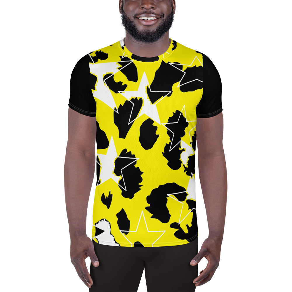 Ani-Star Print Men's Athletic shirt