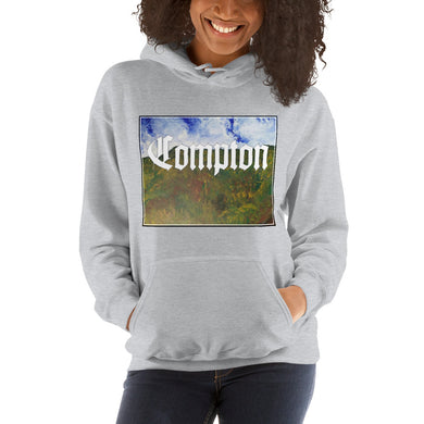 Compton Hollywood Hooded Unisex Sweatshirt
