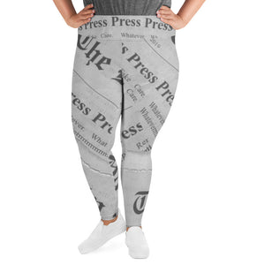 Press Press Press Press Press All-Over Print Plus Size Leggings 🌠