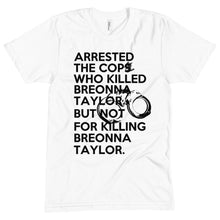Load image into Gallery viewer, Post Breonna Taylor Grand Jury Decision Unisex Crew Neck Tee