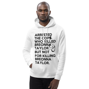 Post Breonna Taylor Grand Jury Decision Unisex pullover hoodie (small cuffs)