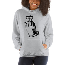 Load image into Gallery viewer, Middle finger (censored) Hooded Sweatshirt
