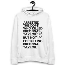 Load image into Gallery viewer, Post Breonna Taylor Grand Jury Decision Unisex pullover hoodie (small cuffs)