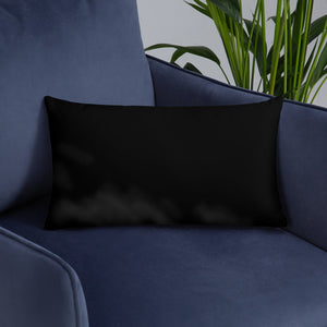 """ Feeling Relaxed "" Basic Pillow"