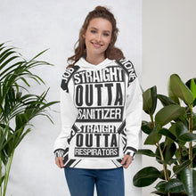 Load image into Gallery viewer, PPE inspired / Straight Outta ( Corona COVID-19 edition ) Unisex Hoodie