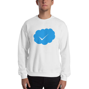 "The perfect way to validate and verify yourself..."" BLUE CHECK "" Sweatshirt"