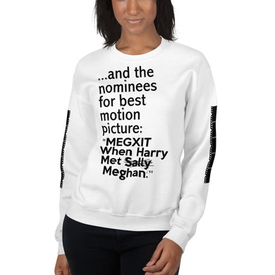 Harry and Meghan  Megxit Unisex Sweatshirt