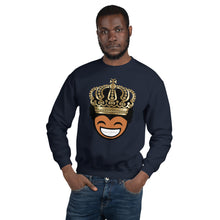 Load image into Gallery viewer, Young, Happy King Unisex Sweatshirt