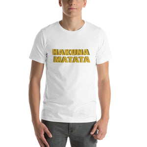 """ Hakuna Matata "" (Lion King inspired) short-sleeve unisex tee"