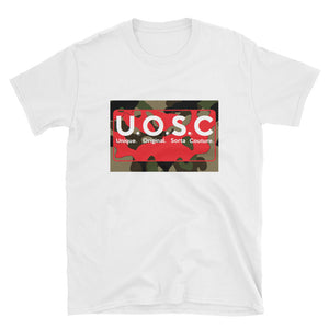 U.O.S.C (Unique. Original. Sorta Couture) Short-Sleeve Unisex T-Shirt
