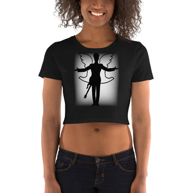 Prince Dove Women's Crop Tee