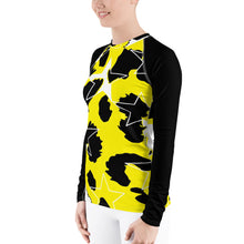 Load image into Gallery viewer, Ani-Star Women's Rash Guard Fitted Shirt