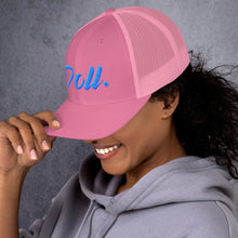 "Load image into Gallery viewer, "" Doll "" Trucker Cap"