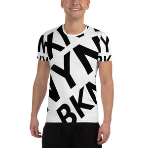 """BXNY NYNY BKNY"" Men's Athletic t-shirt"