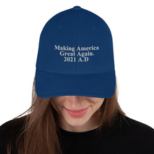 Load image into Gallery viewer, Making America Great Again UNISEX Structured Twill Cap
